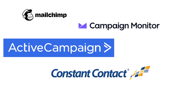 Campaign Monitor, Constant Contact, VerticalResponse