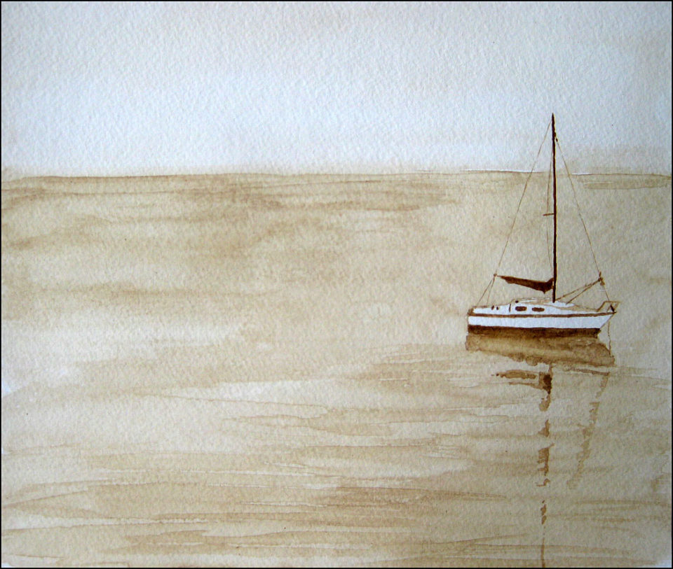 Sailboat, West Bay