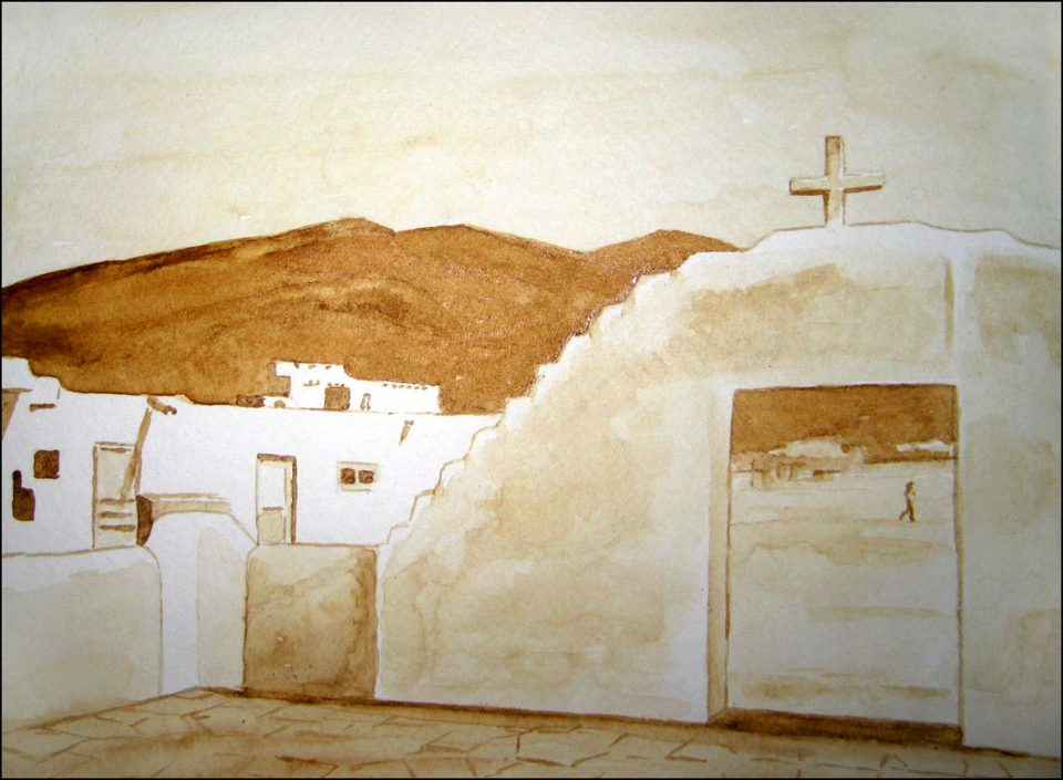 The Church at Taos Pueblo